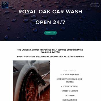 Royaloakcarwash.ca thumbnail