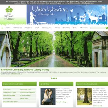 Royalparks.gov.uk thumbnail