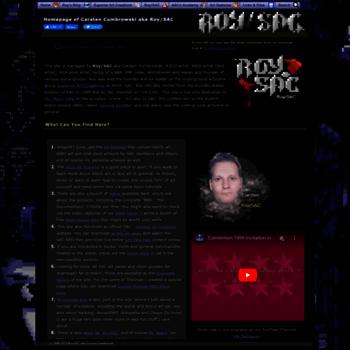 roysac com at WI  ASCII Art and ANSI Art - Text Art by Roy