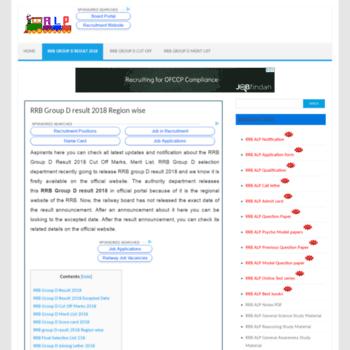Rrbalprecruitment.in thumbnail
