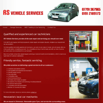 Rs-vehicle-services.co.uk thumbnail