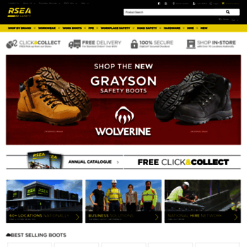 dfa499c7294 rsea.com.au at WI. Safety Equipment, Safety Gear & More At RSEA ...