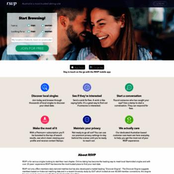 RSVP dating gratis å bruke Asian datingside