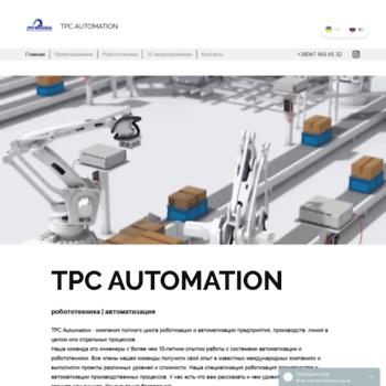 Бесплатный анализ сайта ru.tpcautomation.net