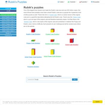 Rubikspuzzles.net thumbnail