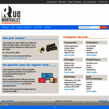 Rue montgallet com