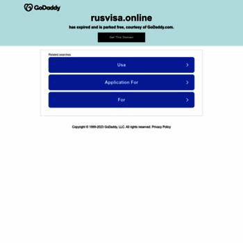 Rusvisa.online thumbnail