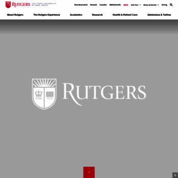 Rutgers.edu thumbnail