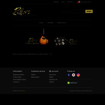 ruttersguitars com at WI  Rutters Guitars - Vintage