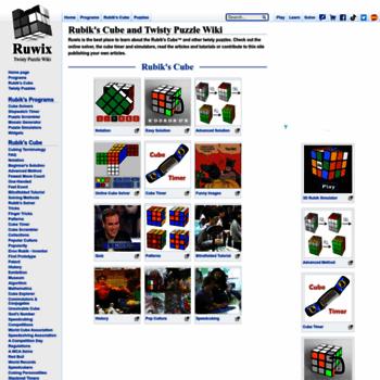 ruwix com at WI  Rubik's Cube and Twisty Puzzle Wiki - Ruwix