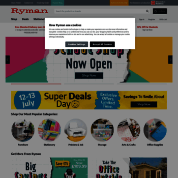 Ryman.co.uk thumbnail
