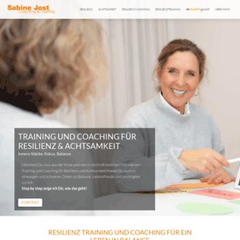Sabinejost-coaching.de thumbnail