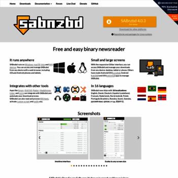 Sabnzbd.org thumbnail