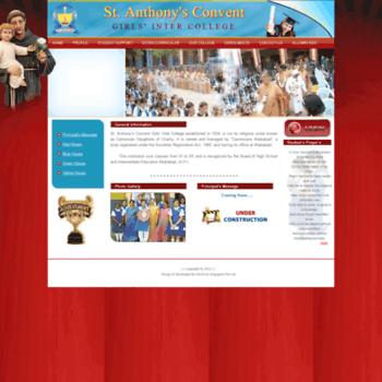 sacallahabad org at WI  St  Anthony LOGIN