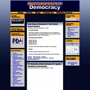 Sacramentofordemocracy.org thumbnail