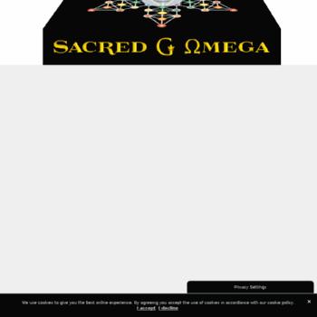 Sacredg.com thumbnail