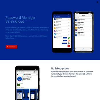 safe in cloud password manager android