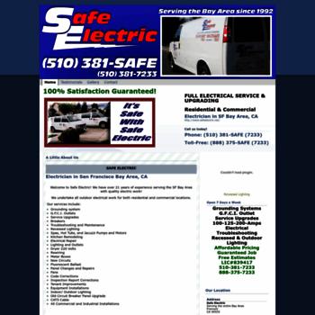 Safeelectric.net thumbnail