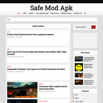 safemodapk com at WI  Download free games for android and