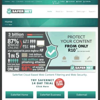 Safernet.co.za thumbnail