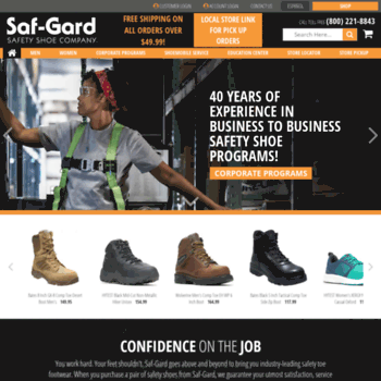 38d44f329f3 safgard.com at WI. Safety Shoes & Work Boots - Top Brands & Best ...