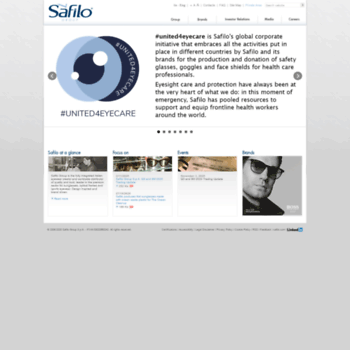 Safilo.it thumbnail