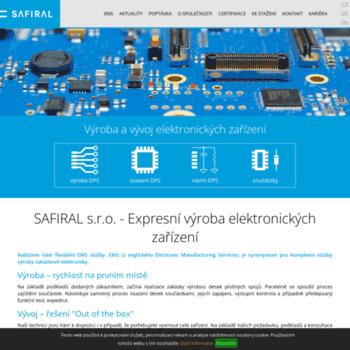 Safiral.cz thumbnail