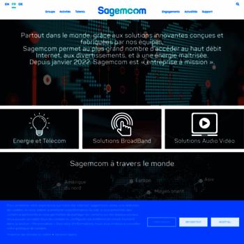 sagemcom com at WI  Official website | Sagemcom