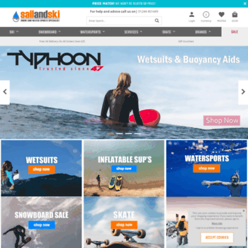 sailandski co uk at WI  SailandSki co uk - Skis | Snowboards