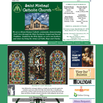 Saintmichaelsc.net thumbnail