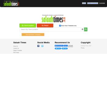 Salaahtimes.co.za thumbnail