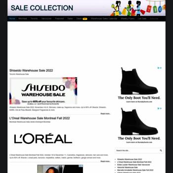 Salescollection.ca thumbnail