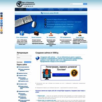 Веб сайт salesforever.ru