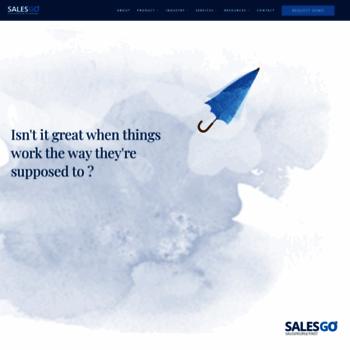 Salesgo.in thumbnail