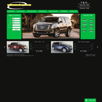 Salina Used Cars >> Salinausedcars Com At Wi Used Cars Salina Ks Used Cars Trucks