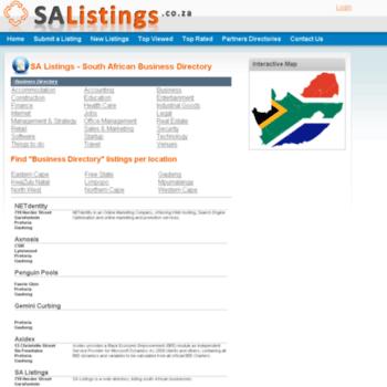 Salistings.co.za thumbnail
