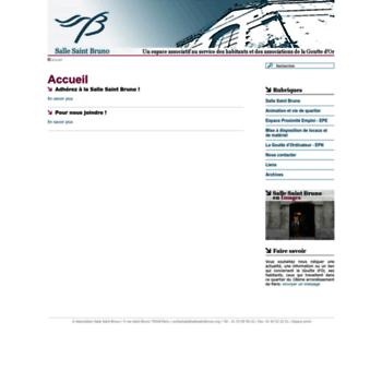 Sallesaintbruno.org thumbnail