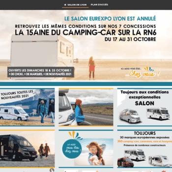 Salon Camping Car Lyon Com At Wi Salon De L Occasion