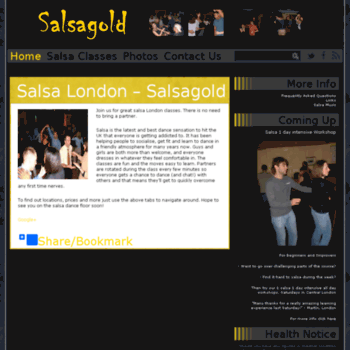 Salsagold.co.uk thumbnail
