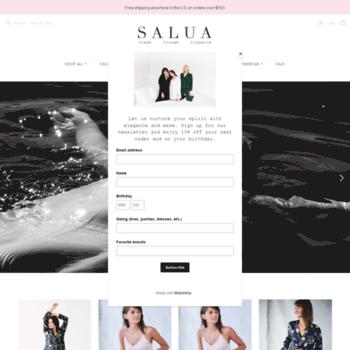 976762841 salualingerie.com at WI. Salua Lingerie–Romantic
