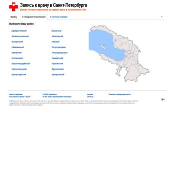 Веб сайт samozapis-spb.ru