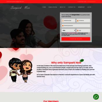 sampark online dating Τι είδους προσωπίδα γνωριμιών έχεις