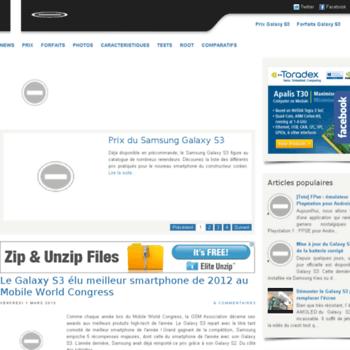 Samsung-galaxys3.fr thumbnail
