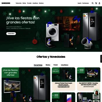 Samsung.com.pe thumbnail