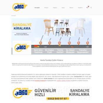 Sandalyekiralama.info thumbnail