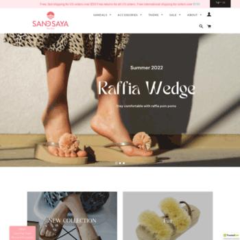 eb70449d24cd2 sandbysaya.com at WI. Buy Women s Sandals Online    Sand By Saya