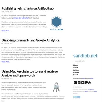 Sandipb.net thumbnail