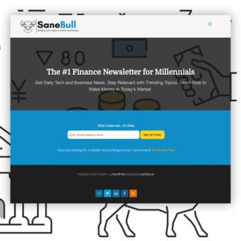Sanebull.com thumbnail
