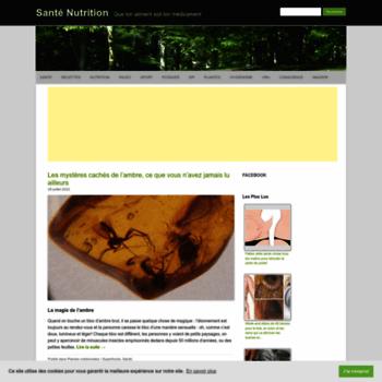 Sante-nutrition.org thumbnail