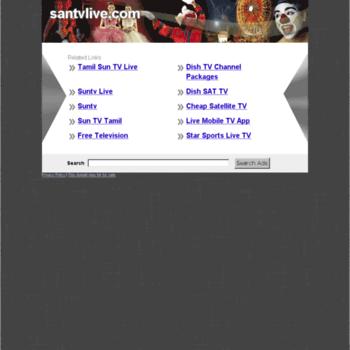 santvlive com at Website Informer  Visit Santvlive